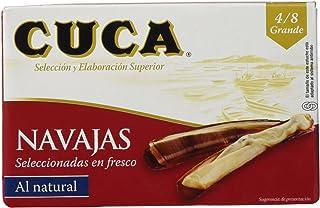 Cuca - Navajas al Natural - 4/8 Piezas - 120 g