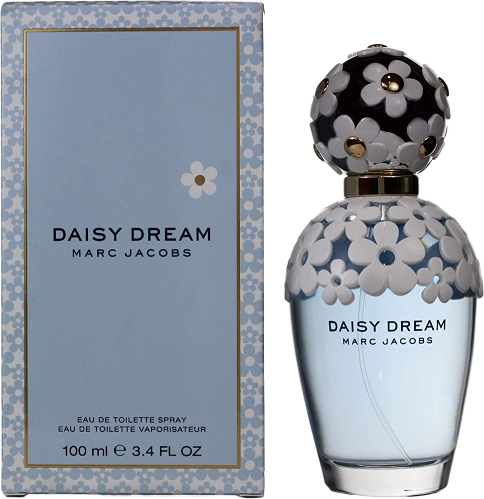 Marc jacobs daisy dream,eau de toilette,profumo per donna 100ml DAD18