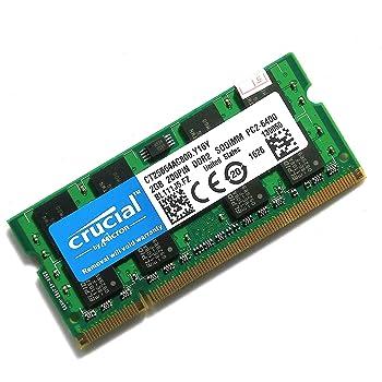 Crucial ノートPC 増設メモリ PC2-6400 DDR2 800mhz 2GB 200pin SO-DIMM [並行輸入]