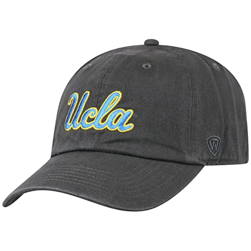 save off d57e3 765d1 Top of the World NCAA Men s Hat Adjustable Relaxed Fit Charcoal Icon