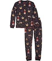 Sleep Like A Sloth Thermal Two-Piece Jammie Set (Toddler/Little Kids/Big Kids)