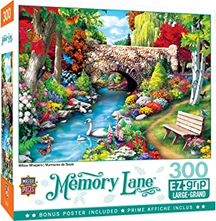 MasterPieces Memory Lane Puzzles Collection - Willow Whispers 300 Piece EZ Grip Jigsaw Puzzle