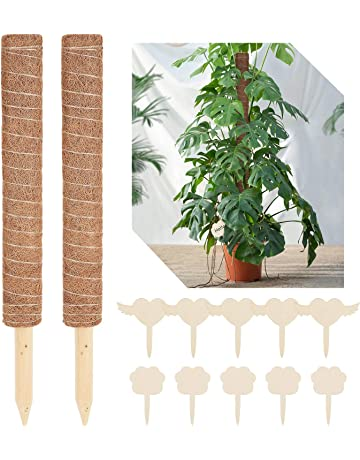 supporto per piante in metallo Perfit 12 pezzi Supporto per piante da giardino con 15 etichette per piante