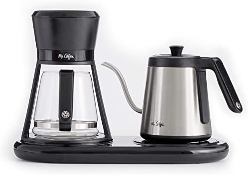 new arrival Mr. popular Coffee BVMC-PO19B All-in-One Pour Over Coffee Maker, online 6 Cups, Black online