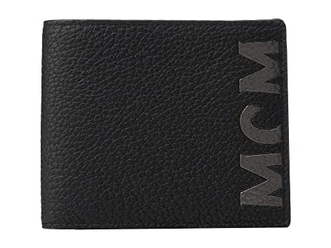 MCM New Big Logo Flap Wallet/Two-Fold Small