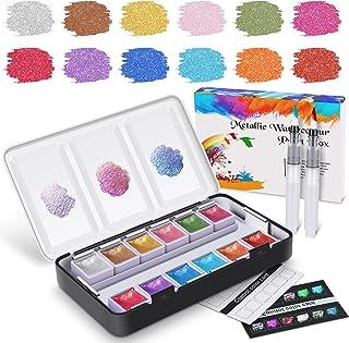 12-färg metalliskt fast pigment