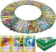Pokemon Cartes,Carte Pokemon 103pcs Version française,60V+40Vmax+3 Carte énergie Flash Trading Puzzle Tag Team Cartes,Cartes Brillantes Cadeau,Cadeaux de Noël et Cadeaux d'anniversaire pour Enfants