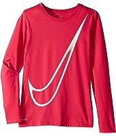 Nike Kids Dry Long Sleeve Training T-Shirt (Little Kids/Big Kids)