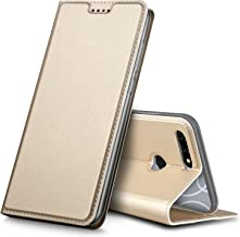 Blu Vivo X Case,Tisuns PU Leather & TPU Case Card Slot Ultra Slim Flip Cover Case Protective Sleeves with Stand Holder for Blu Vivo X Gold