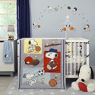 Bedtime Originals 3 Piece Snoopy Sports Bedding Set