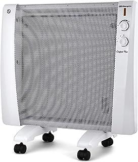 Orbegozo RM 1000 - Radiador de mica, 3 potencias de calor, sin fluido, protección contra sobrecalentamiento, sistema antivuelco, 1000 W