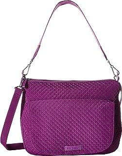 Vera Bradley Carson Shoulder Bag Gloxinia Purple One Size