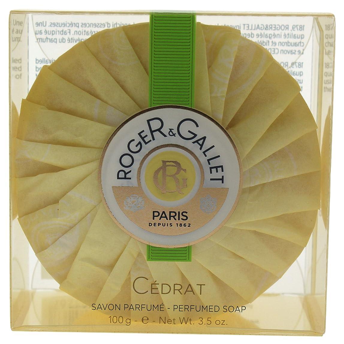 やむを得ないデコラティブゴールデンロジェガレ セドラ パフュームド ソープ 100g 並行輸入品