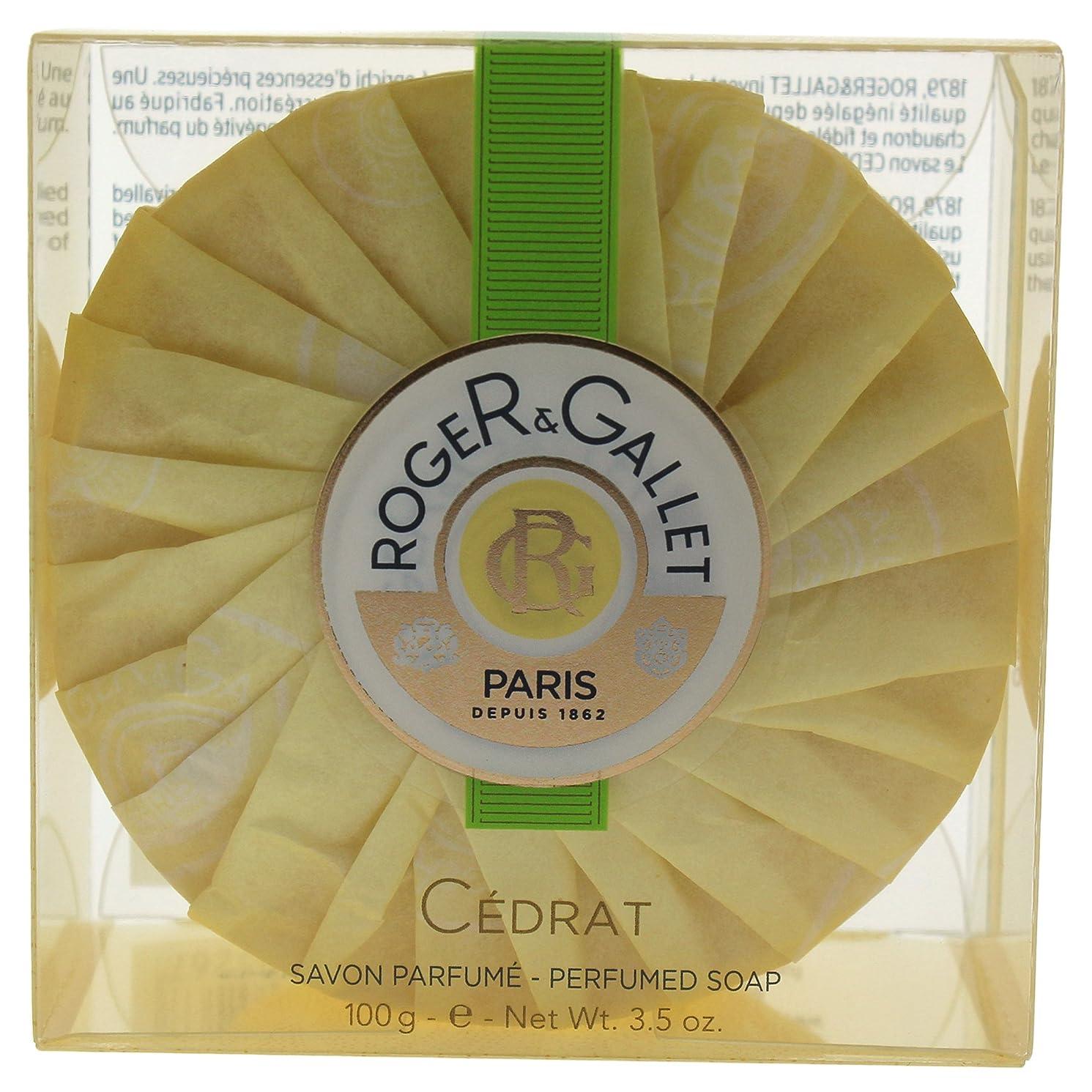 高尚なぼかすほのめかすロジェガレ セドラ パフュームド ソープ 100g 並行輸入品