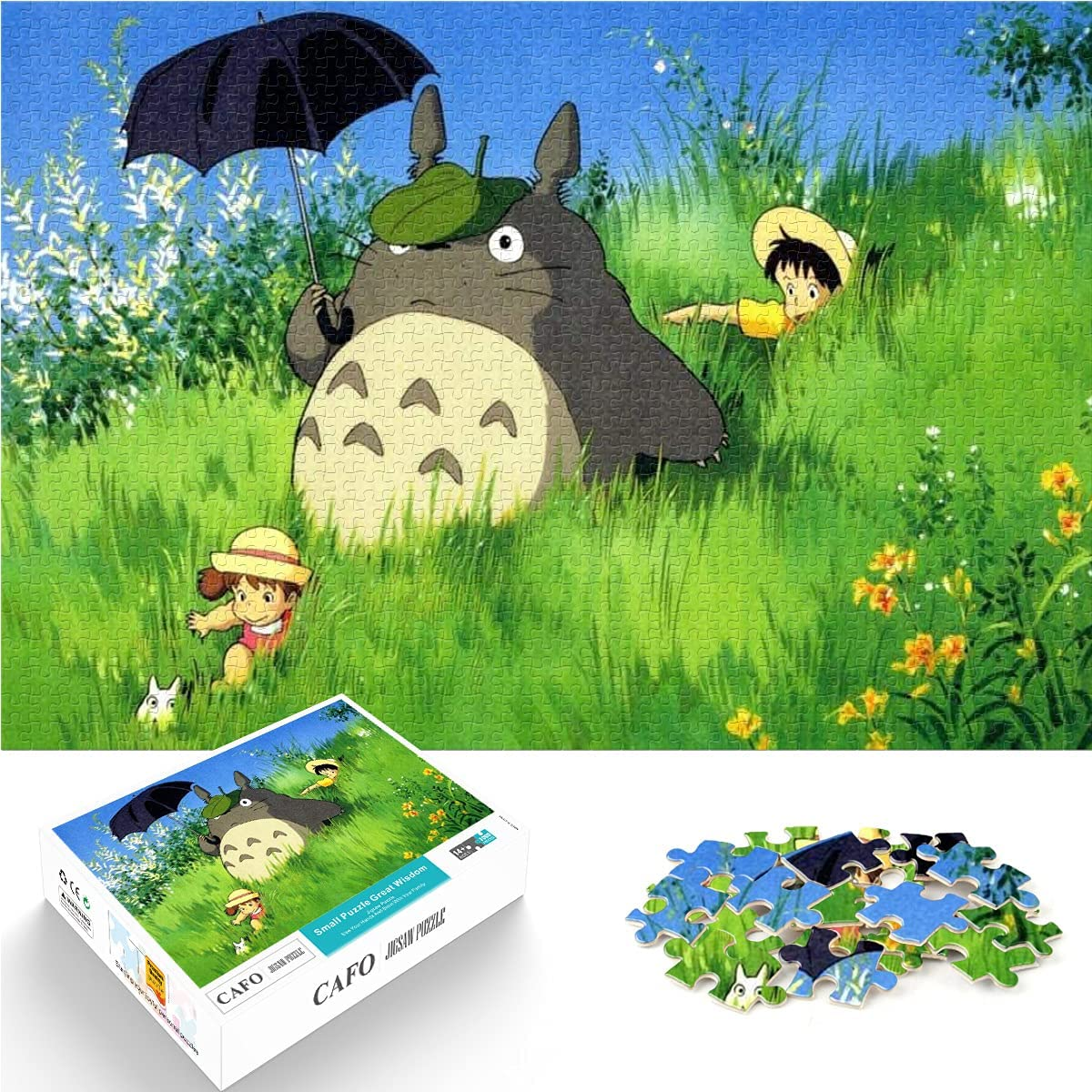 Jigsaw Puzzle 1000 25% OFF Pieces Large discharge sale My Pos Character Anime Neighbor Totoro