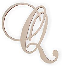 cursive letter q