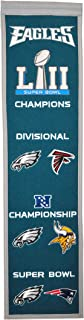 NFL Philadelphia Eagles Road to Supeer Bowl 52 Heritage Banner
