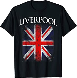 England British Flag Vintage T-Shirt