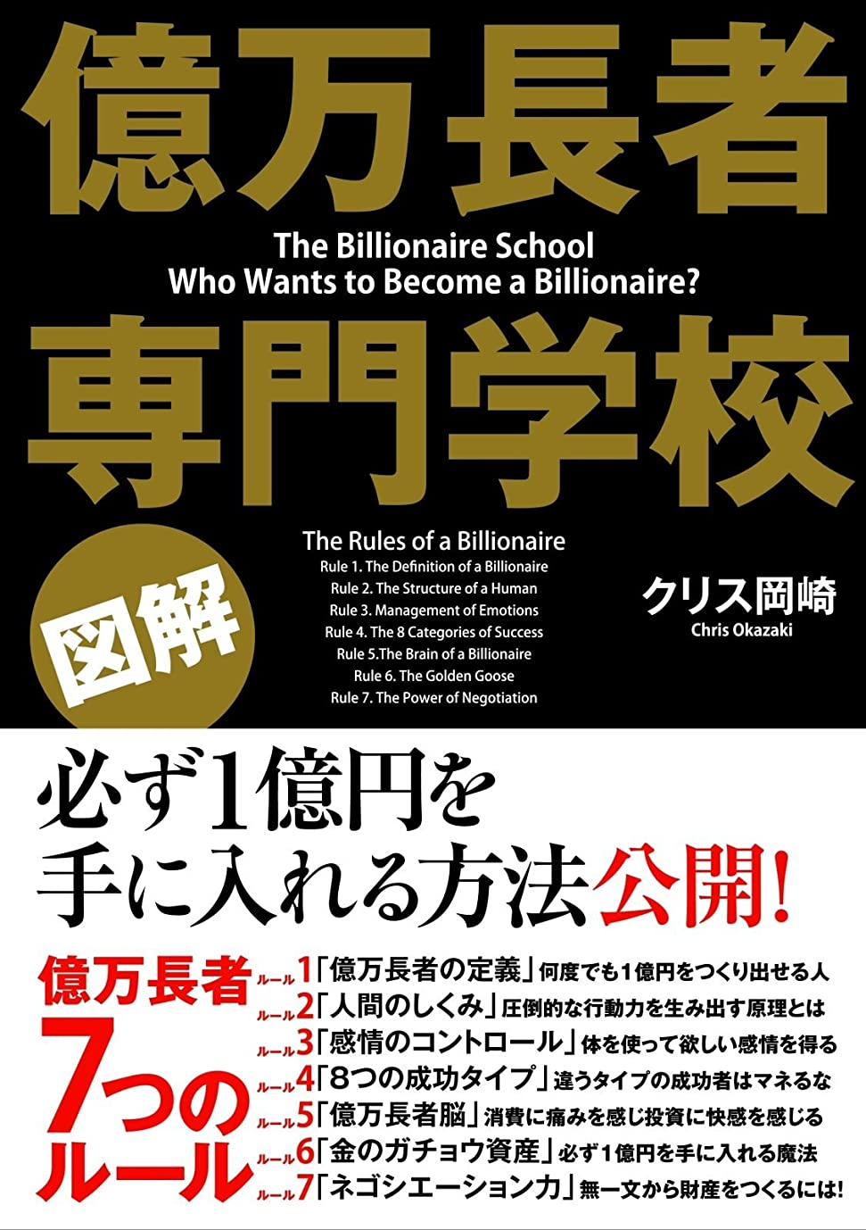 習字インターネット内側[図解]億万長者 専門学校 (中経出版)