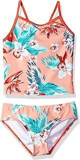 Kanu Surf girls Alania Floral Banded Tankini Beach Sport 2-Piece Swimsuit Tankini Set