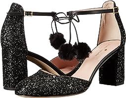 Black Glitter/Nappa