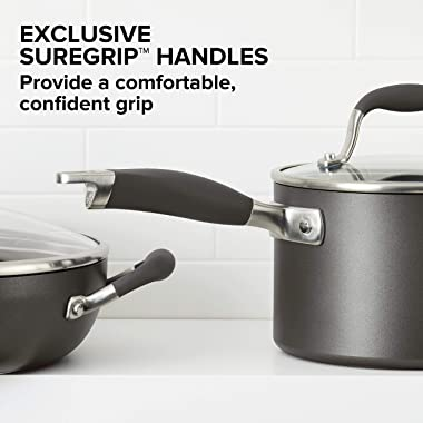 Anolon Advanced Hard Anodized Nonstick 12-Inch Covered Ultimate Pan