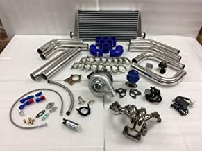 Civic D Series D16 D15 SOHC T3T4 .63 Turbo Kit Stainless Steel Manifold