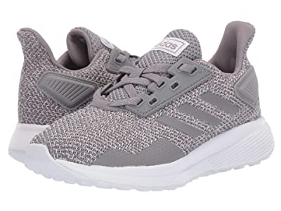 adidas Kids Duramo 9 (Little Kid/Big Kid) (Grey) Boy