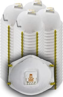 3M - 51138543438 8511 Particulate Disposable Respirator, N95, Grinding, Sanding, Sawing, Sweeping, Dust, Smoke, 80/Pack