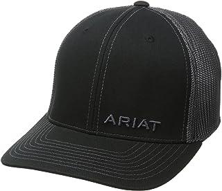 Ariat Men's Solid Black Corner Brand