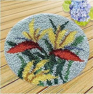 Kits Crochets pour Adultes avec Fil, carret Bricolage Kits de Tricot pour Adultes débutants, Kits de Broderie avec Motif k...