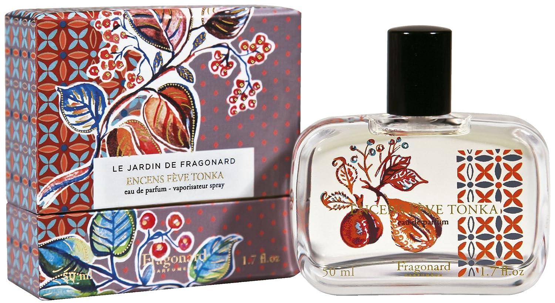 Fragonard Le jardin Encens - Eau de Gorgeous Tonka Feve Parfum Japan Maker New