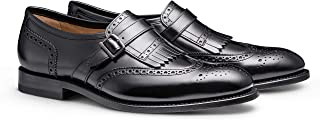 The Broden: Men's Leather Semi-Brogued Wingtip Kiltie Penny Loafer