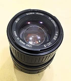 Sigma Pentax muont Zoom Manual Lens 70-210/1:4-5.6 UC 11 -
