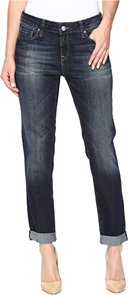 Ada Relaxed Boyfriend in Indigo Brushed Tribeca