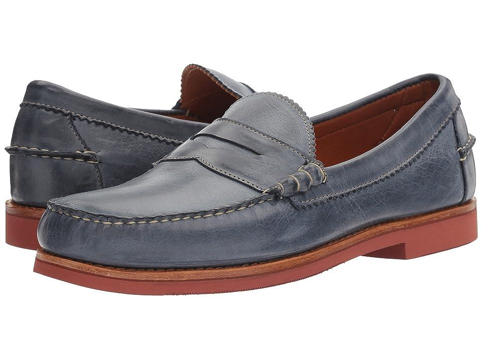 Allen Edmonds Sedona (Navy Leather) Men's Slip-on Dress Shoes