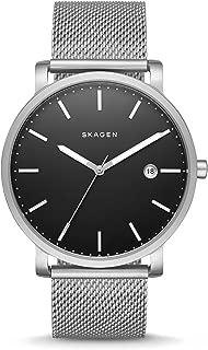 Skagen Men's Hagen Three Hand Date Silver Stainless Steel Watch SKW6314