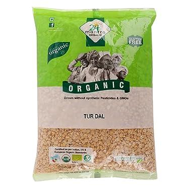 24 Mantra Organic Pulses - Tur Dal, 1 Kg