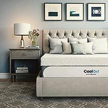 Classic Brands Cool Gel 1.0 Ultimate Gel Memory Foam 14-Inch Mattress with BONUS Pillow, Full