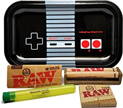 Bundle – 5 Items – RAW King Size Supreme, 110 Roller and Pre-Rolled Tips with..