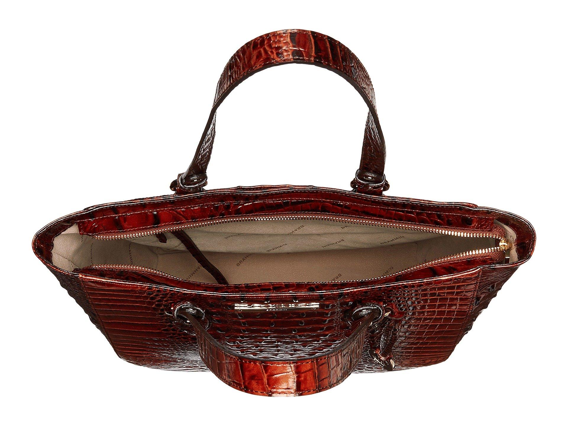 Lena Melbourne Medium Pecan Brahmin Bag vEwpYUqq