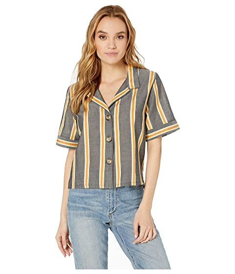 ELSE Ponza Relaxed Cropped Shirt