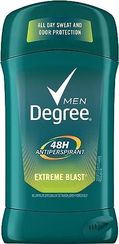 Degree Extreme Blast All Day Protection Anti-Perspirant Deodorant for Men, 2.7 Oz
