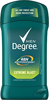 Degree Extreme Blast All Day Protection Anti-Perspirant Deodorant for Men, 2.7 Oz