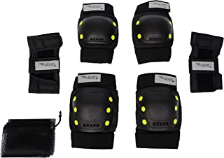 Flybar Protective Safety Gear Set- Multi Sport Safety Gear for Rollerblade Roller Skates Inline Skating Cycling BMX Bike S...
