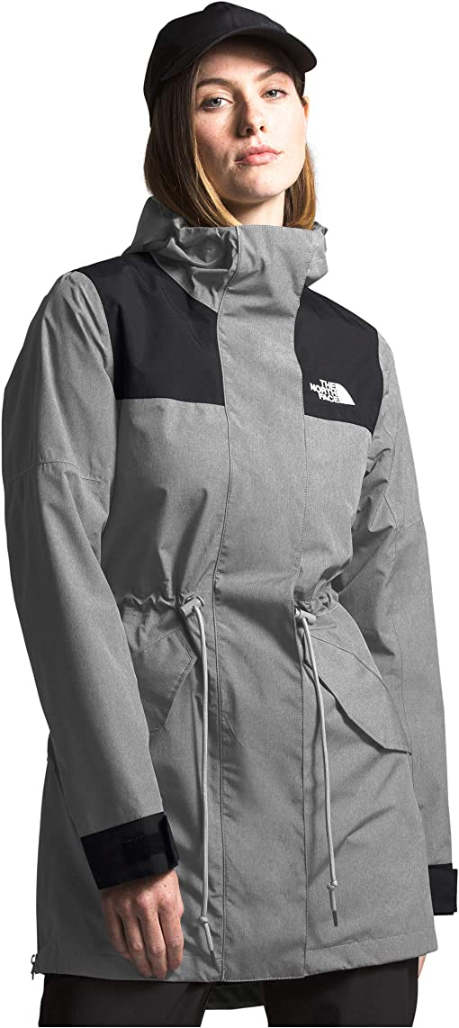 TNF Medium Grey Heather/TNF Black