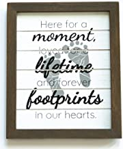 """Gie Blessings Miscarriage Gifts for Mothers I Sympathy Memorial Loss of a Baby Bereavement Sign Gift - 7.5"""" x 9"""" Comes in ..."""