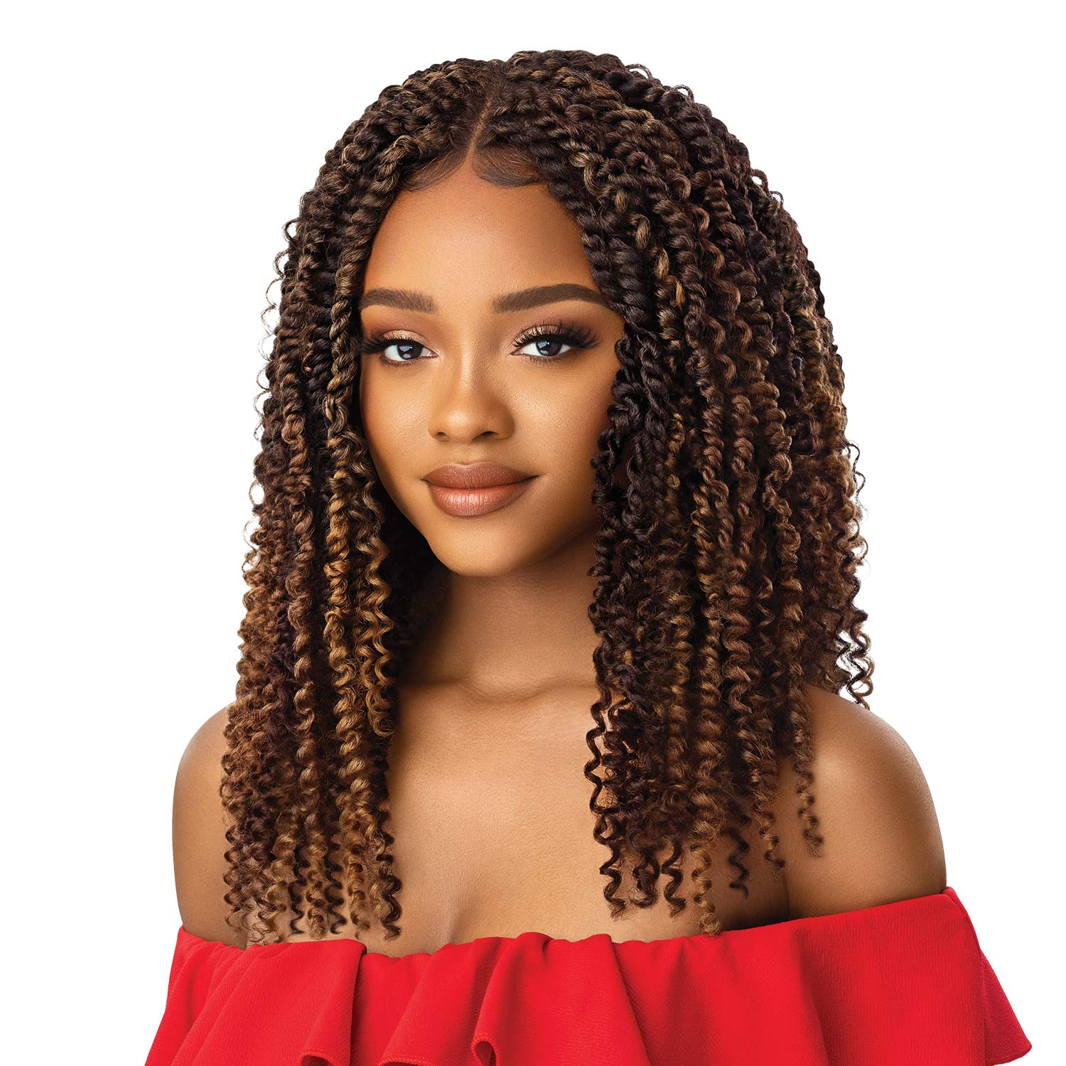 Outre X-Pression Twisted Up Free shipping on posting reviews 4x4 NEW before selling Lace Front Wig BOHO Braid KINKY
