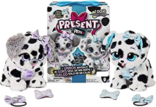 Present Pets Dog Diamond Or Sparkle Dalmatian Interactive Plush Pet Toy with 2 Bonus Accessories and Over 100 Sounds and A...