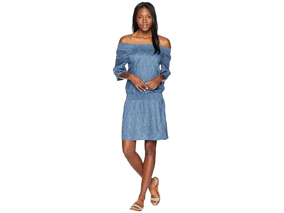 Prana Lenora Dress (Blue Sprinkle) Women